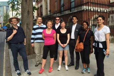 10KBW team on the London Legal Walk